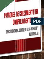 Patrones  de crecimiento del complejo dentofacial.pptx