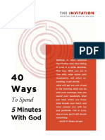 40+Ways+To+Spend+Five+Minutes+With+God+D