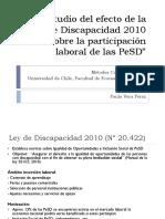 Trabajo de Investigación M3 Ley Discapacidad Chile