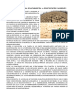 Dia Mundial de La Desertificacion