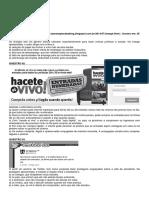 interpretação textual espanhol