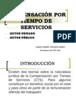 COMPENSACIÓN POR TIEMPO DE SERVICIOS.ppt