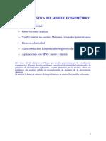 Problemática modelo econometria