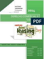 Derecho Comercial - Leasing