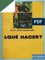 Chernyshevski - Qué Ha