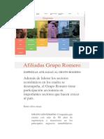 Afiliadas Grupo Romero