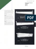 Westinghouse Lighting PTC-96 - FU-72 & DLU-72 Fluorescent Tunnel & Underpass Spec Sheet 3-72