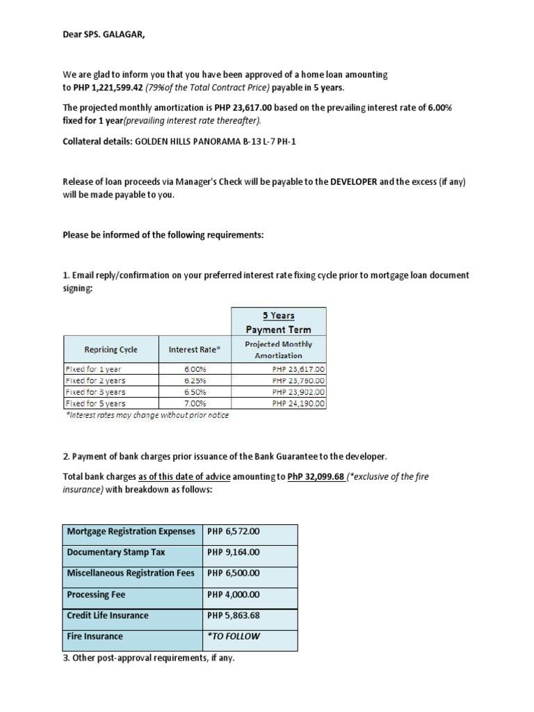 PSBank   Mortgage Loan   Loans