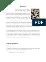 Analgésicos 2