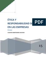 Etica y Responsabilidad Social en Las Empresas