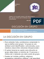 Discusión en Grupo Ricardo