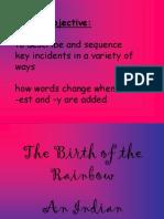 Birth of the Rainbow