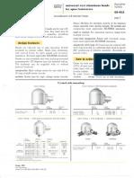 Westinghouse Lighting Universal Cast Aluminum Head INC & Mercury Roadway Spec Sheet 6-61