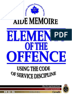 Elements of the Offence