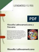 Filosofía en Latinoamérica y El Peru
