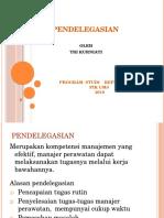 Pendelegasian PSIK 2016 bu Tri 1-12-2016.pptx