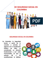 Sistema de Seguridad Social en Colombia