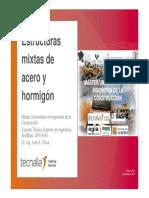 Estructuras mixtas de Acero y Hormigón