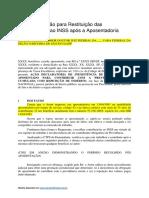 MODELO-Ação-para-Restituição-das-Contribuições-ao-INSS-após-a-Aposentadoria
