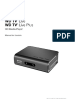 Manual WD Live Plus