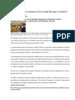 OEFA Ordena a Aruntani El Cierre Final Del Tajo y Botadero de Arasi en Puno