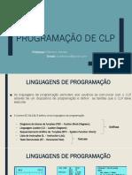 Aula 02 - Programação de CLP - Linguagem Ladder