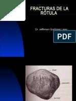 39. Fracturas de Rotula Jefersson