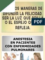 Anestesia en Px Con ER