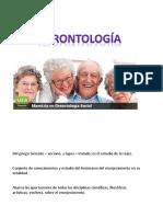 definiciones gerontologia