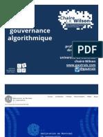 Gouvernance algorithmique