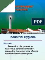 Recognition of Environmental Hazards