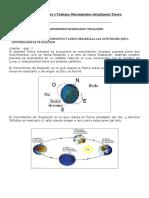 Guía Naturales 3° (movimientos de la Tierra)