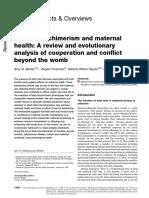 Fetal microchimerism and maternal health.pdf