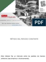 08 Método Del Periodo Constante
