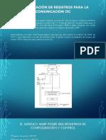 Configuración de Registros Para La Comunicación I2C
