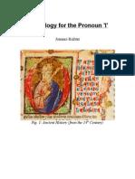 Etymology for the Pronoun 'I'