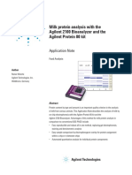 Agilent Milk Protein Analysis