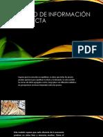 Modelo de Información Imperfecta (3)