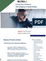 Bilytica #1 BI Company in Saudi Arabia
