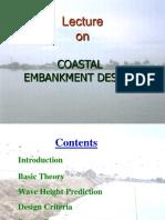 Coastal Embankment Design