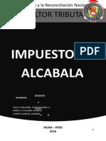 IMPUESTO ALCABALA