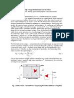 Bidirectional Current Source-TI