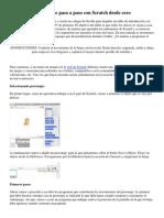 Creando un videojuego paso a paso con Scratch desde cero.pdf