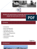 Guidance for Good Practice in Bored Pile and Diaphragm Wall