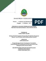 DOKUMEN PENGADAAN Server Room and Facilities (Data Center)