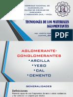 Clases 04 - Aglomerantes
