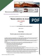 Buenos Ministros de Jesucristo. Libro Completo. 110 Páginas