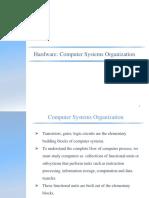 Hardware Computer Organization-I