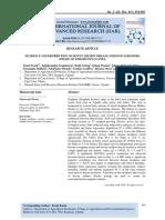 INCIDENCE AND DISTRIBUTION OF DOWNY MILDEW DISEASE (PERONOSCLEROSPORA SORGHI) OF SORGHUM IN UGANDA.