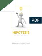 t 5 Hipótesis